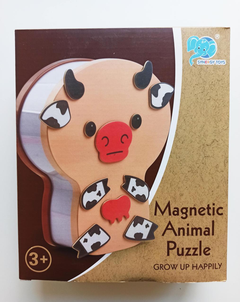 Магнитные пазлы животные Sinergy Toys MAgnetic Animal Puzzle 45 дет 8826-4