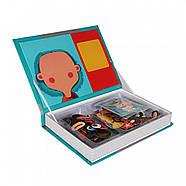 """Магнитная книга (набор) Magnetic book МагнетикБук """"Смешные лица"""", фото 2"""