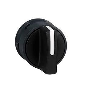 Головка для переключателя 22 мм 2 позиции черная ZB5AD2