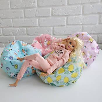 Тканевый пуфик NestWood для кукол Барби и ЛОЛ