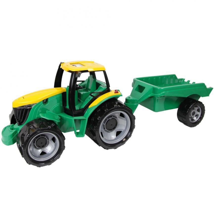 Великий трактор з прицепом Lena 2122