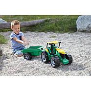 Великий трактор з прицепом Lena 2122, фото 5