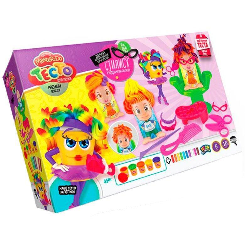 Тесто для лепки Master Do Стилист парикмахер TMD-13-01 Danko Toys