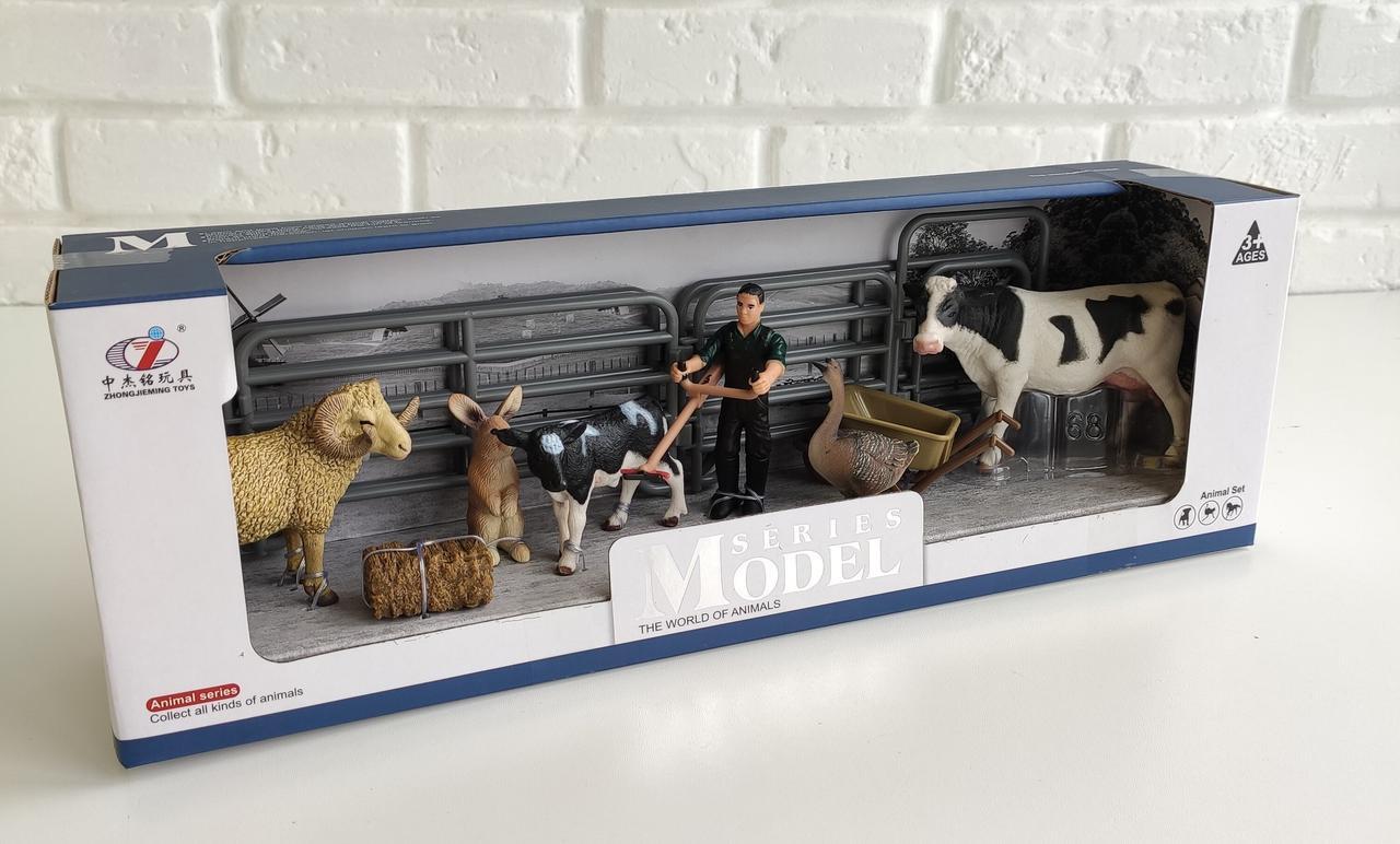"""Большой игровой набор """"Животные для фермы"""" Series Model Q 9899-U4-1"""