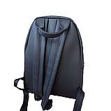 Рюкзак женский городской черный 096G, фото 5