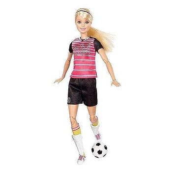 """Кукла Барби Футболистка """"Спортсменка"""" DVF68-2"""