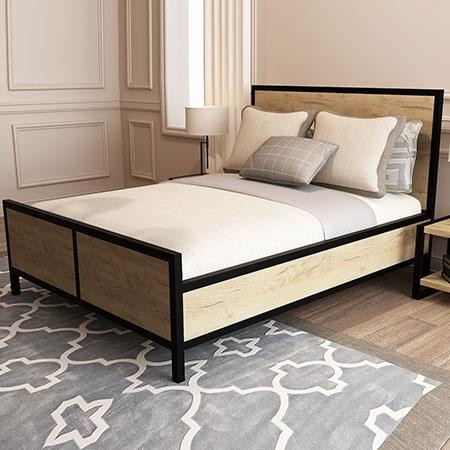 Кровать в стиле LOFT (Bed - 091)