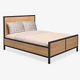 Кровать в стиле LOFT (Bed - 091), фото 2