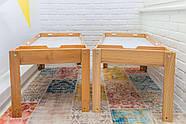 Световой стол-песочница Noofik (дерево ольха). Модель Standart/Universal с 2мя карманами. Комплект Базовый., фото 5