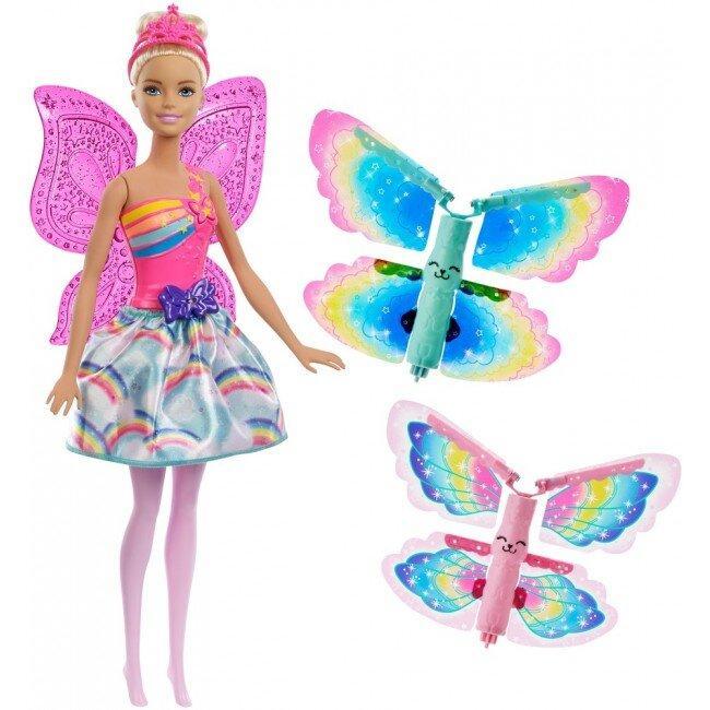 Кукла Barbie Фея Летающие Крылья