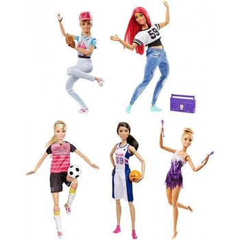 Кукла Barbie Спортсменка серии Я могу быть в асс.(4)