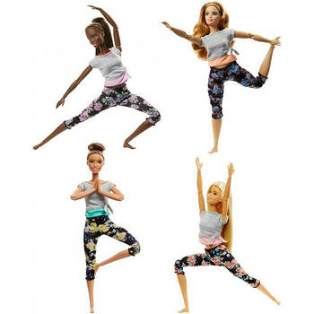 Кукла Barbie Двигайся как я (обновл.), в асс.(4)