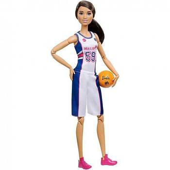 Кукла Barbie Безграничные движения (Баскетболистка) DVF68