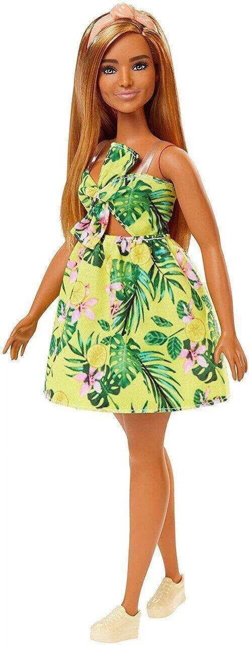 """Лялька """"Модниця"""" в лимонному сарафані Barbie"""