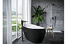 Комплект Excellent для ванны и душа скрытого монтажа Keria черный, фото 2