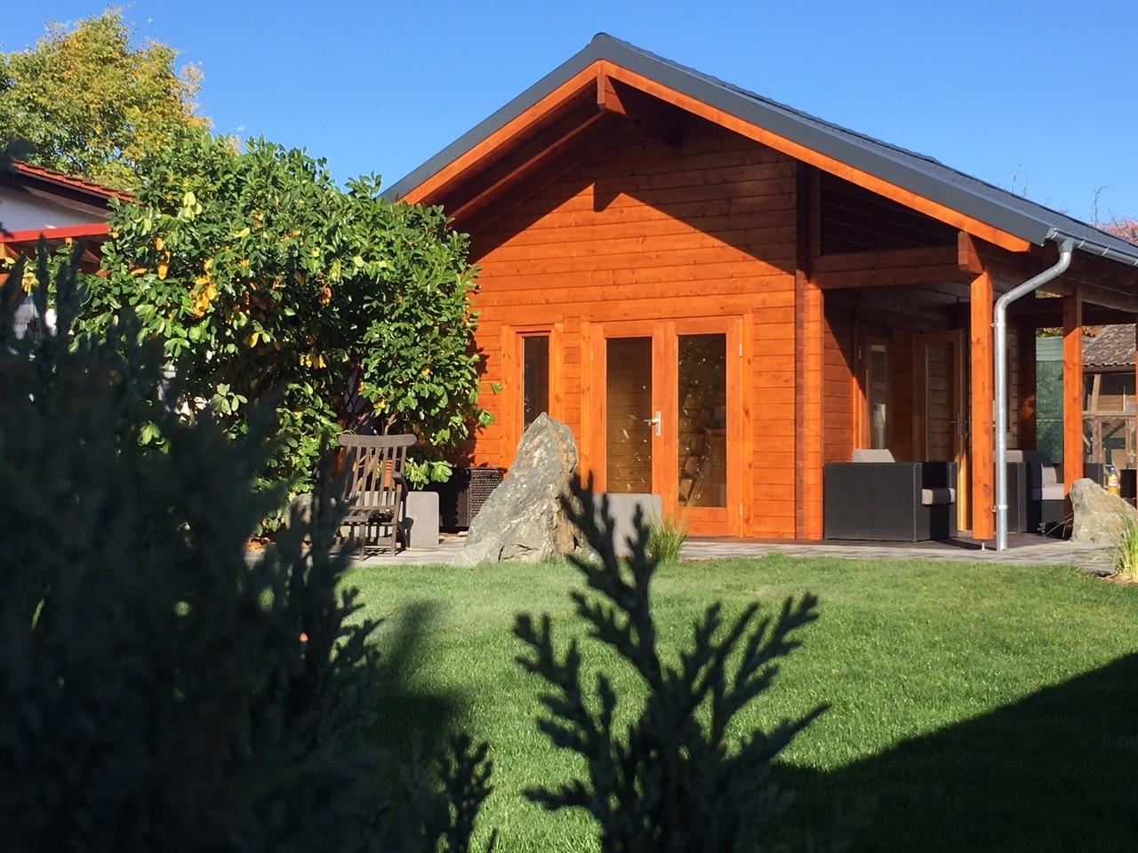Дом из термообработанного бруса 25 м2. от производителя Thermo Wooden House 142