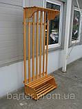 Вешалка напольная деревянная от производителя, фото 3