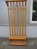 Вешалка напольная деревянная от производителя, фото 5