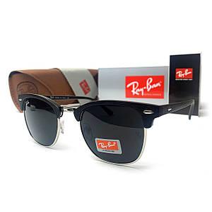 Солнцезащитные Очки R-B Clubmaster (High) Черные