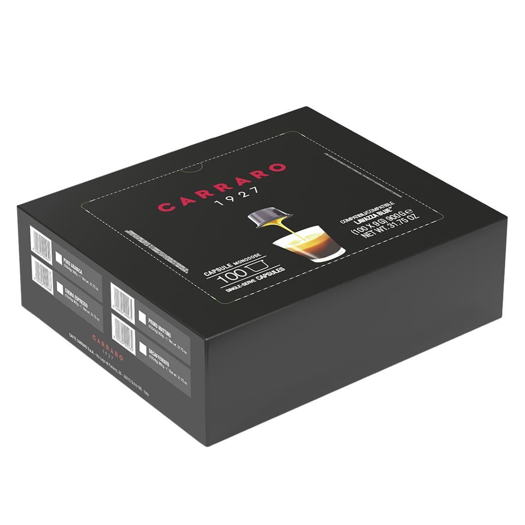 Кава в капсулах Carraro Decaffeinato 100 шт