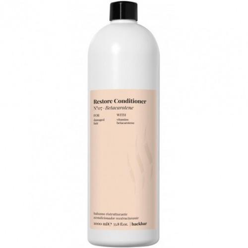 Кондиционер для глубокого восстановления повреждённых волос.  N°07 – Бета-каротин  1000 мл