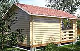 Беседка деревянная из профилированного бруса 3.8х5.6 м. низкая цена от производителя, фото 3