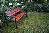 Скамейка парковая стиле LOFT (Street Bench - 35), фото 3