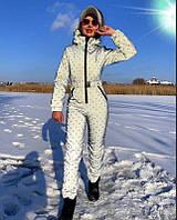 Жіночий стильний лижний комбінезон