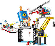 Конструктор Пожарная техника Qman Brick 2806 321 деталь, фото 5