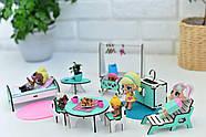 """""""Базовый"""" набор кукольной мебели NestWood для LOL, мятный, фото 3"""