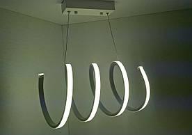 Светодиодная потолочаня LED люстра 9587 Белый 31х26х45 см.