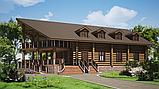Деревянный мини отель, гостиница из бруса, фото 2