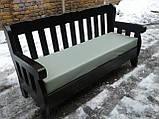 Комплект дерев'яних меблів з диваном від виробника, фото 4