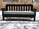 Комплект дерев'яних меблів з диваном від виробника, фото 5