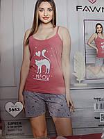 Ночные пижамы, шорты (S-XL) Турция оптом купить от склада 7 км Одесса, фото 1