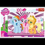 "Пазлы 100 элементов ""Друзья"" Hasbro My Little Pony Trefl, фото 2"