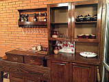 Комплект меблів з масивної деревини 3200х1200 від виробника, фото 10