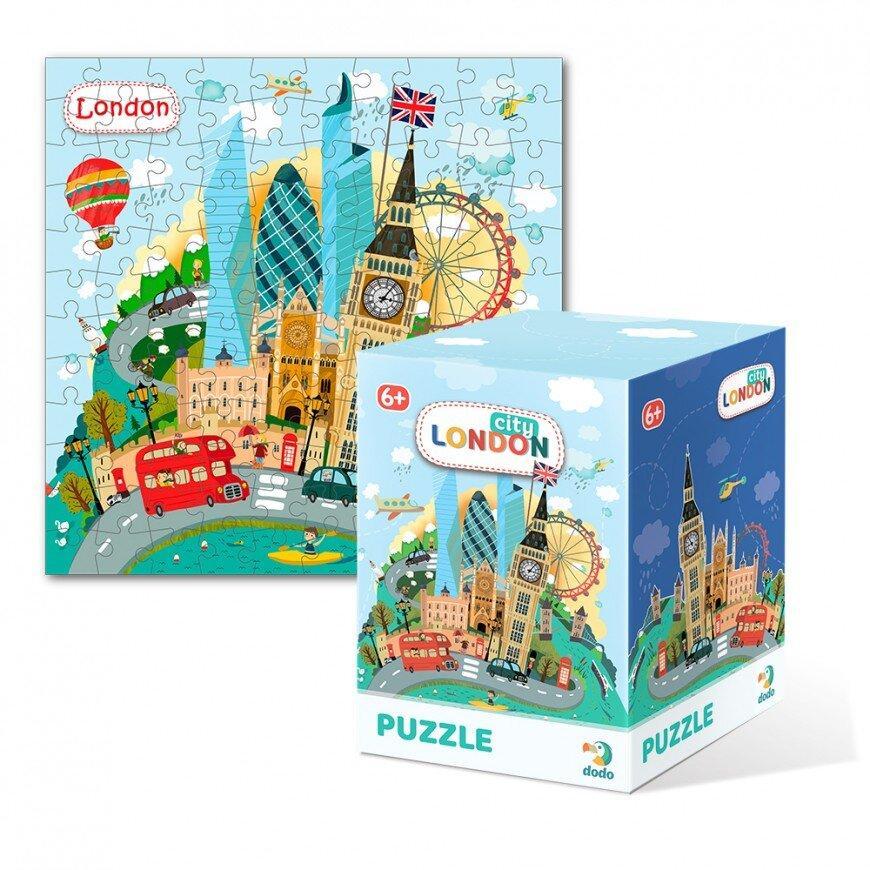 Пазл Міста Лондон Dodo (пазл для майбутніх мандрівників) 300166