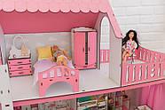 Комплект постельного белья для мебели NestWood (СПАЛЬНЯ) в кукольный домик для Барби, 4 ед., фото 10