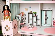 Комплект постельного белья для мебели NestWood (ДЕТСКАЯ) в кукольный домик для Барби, 6 ед., фото 6