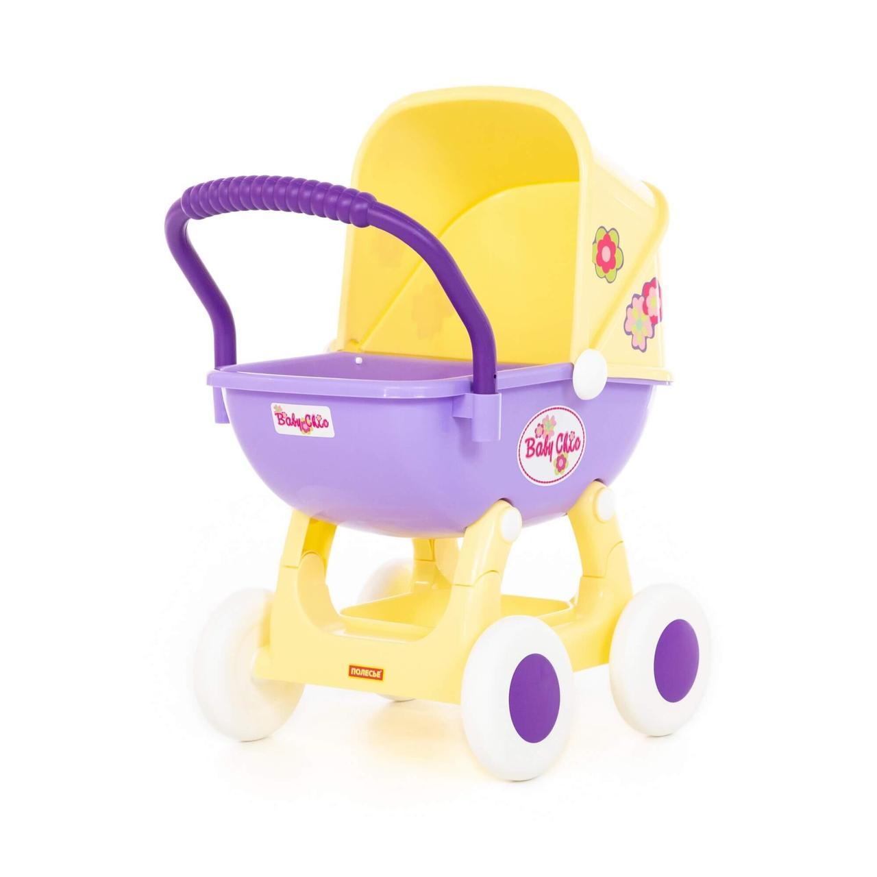Коляска для кукол Arina 4-х колёсная (в пакете) Полесье 48202
