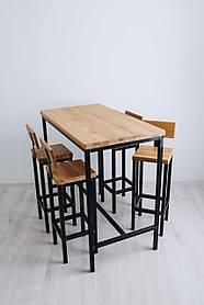 Барный комплект стол + стулья в стиле LOFT (Bar Table - 24)