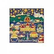 Пазл Міста Будапешт Dodo (пазл для маленьких мандрівників) 300190, фото 2