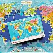 Пазл Мапа Світу (українською мовою) Dodo (цікава географія) 300110/100110, фото 5