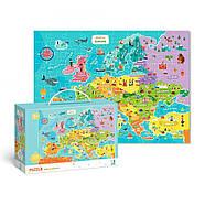 Пазл Мапа Європи (англійською мовою) Dodo (цікава географія) 300124, фото 2