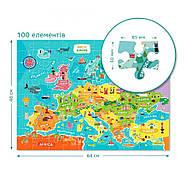 Пазл Мапа Європи (англійською мовою) Dodo (цікава географія) 300124, фото 4