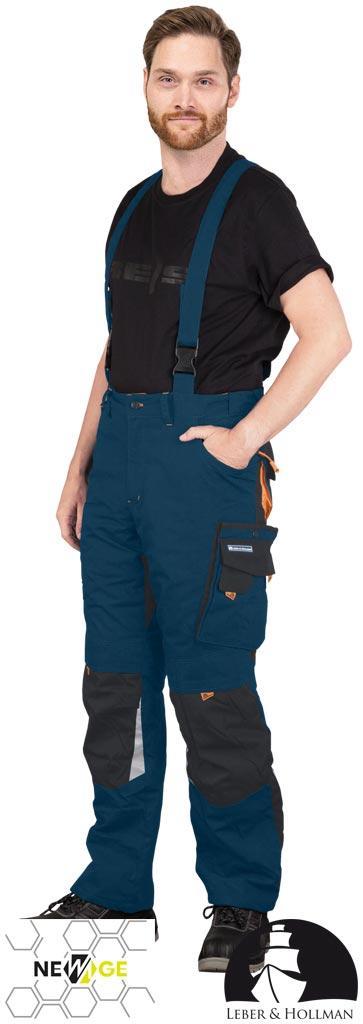 Штани захисні на шлейках LH-NAW-B GBP