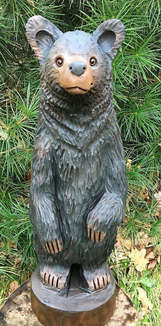 Скульптури з дерева тварин, ручна різьба по дереву (Hand Carved Artwork 02)