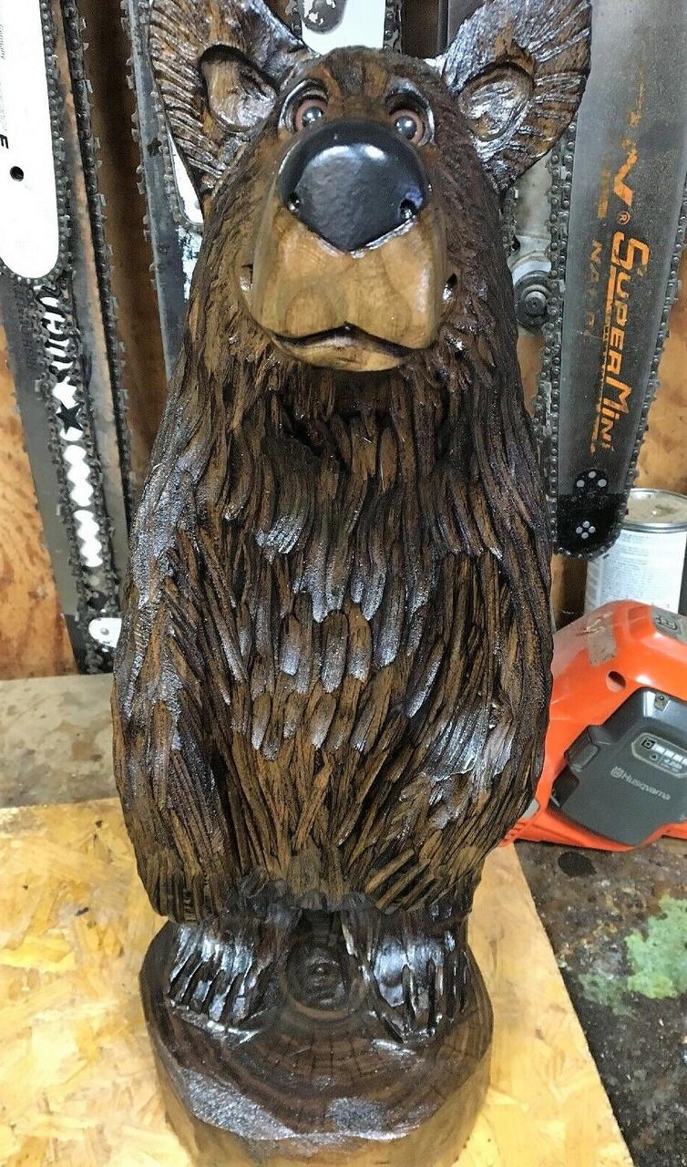 Скульптуры из дерева животных, ручная резьба по дереву (Hand Carved Artwork 05)