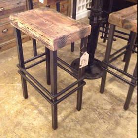 Барный стул в стиле LOFT (Bar Stool - 15)